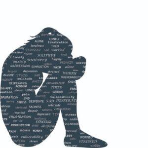 Negative følelser holder person nede